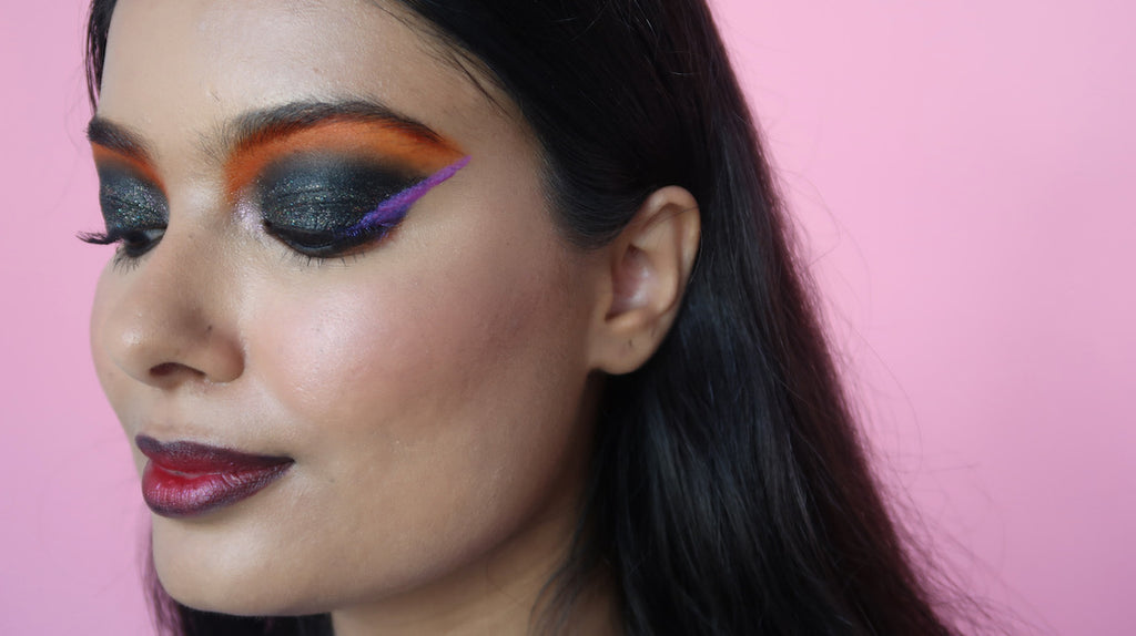 Slapp Halloween! 6 Easy Halloween Makeup Tutorials