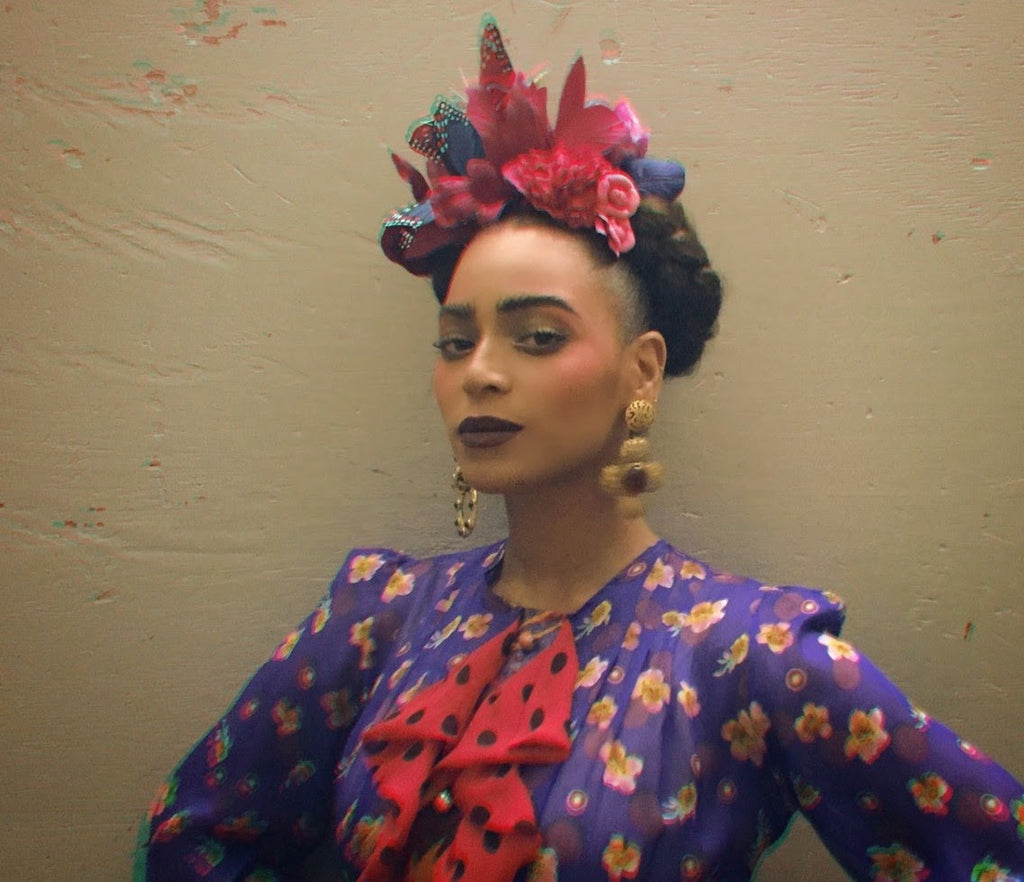 Halloween How to: Beyonce as Frida Kahlo