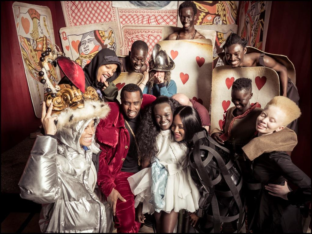 Alice in Wonderland reimagined: Tim Walker's 2018 Pirelli Calendar features a POC model cast