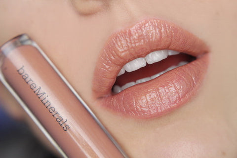 Slapp Guide to Lipgloss: Clear, Pink, Nude, Red - The Best - Bare Minerals Medium Skin