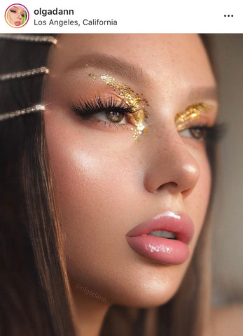 Best Glitter Eye Makeup Looks Party Makeup Ideas Best Instagram Accounts to Follow