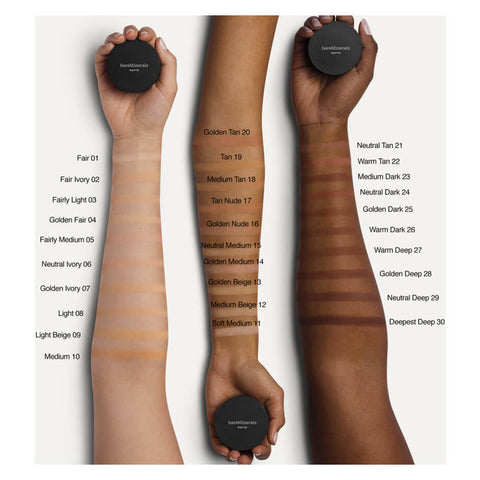 Bare minerals matte foundation spf