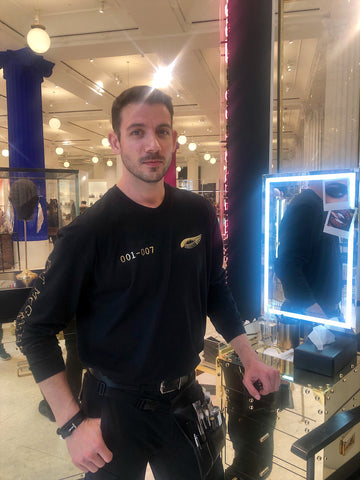 Slapp Chat at Selfridges Pat McGrath -Makeup Artist - Petr Fridrich