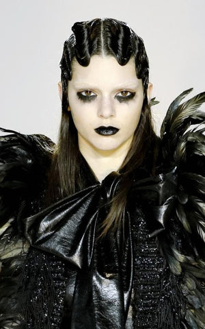 Marc Jacobs Goth Barbie Beauty Inspiration