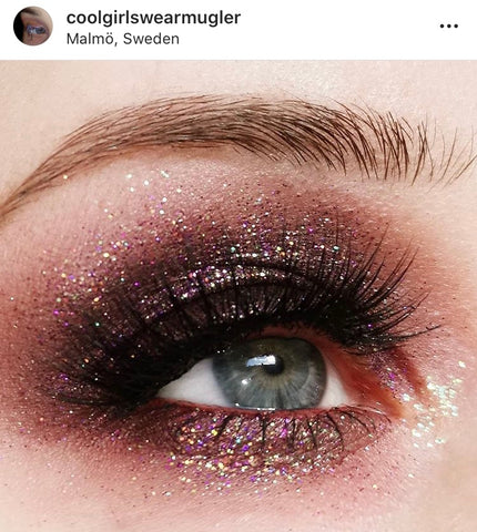 Best Eye Makeup Looks Party Glitter Instagram Accounts To Follow