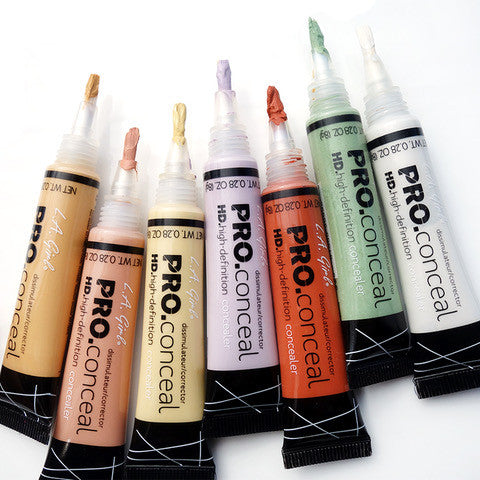 Slapp Makeup Dupes LA Girl PRo Conceal Colour Corrector