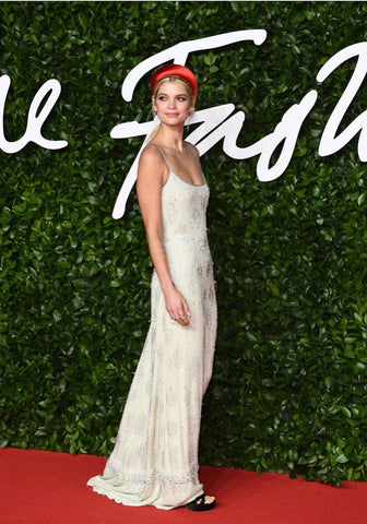 best beauty from british fashion awards