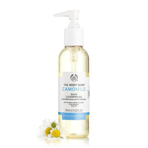 Body Shop Camomile Cleanser Oil - Winter-proof your Skin - skincare - makeup