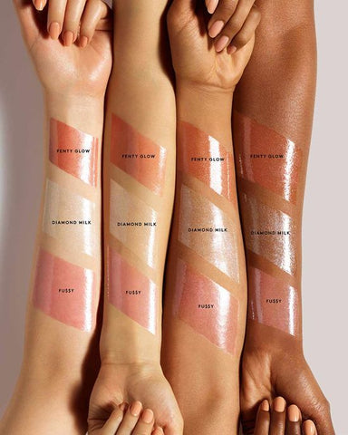 Fenty Beauty Gloss bomb review swatches