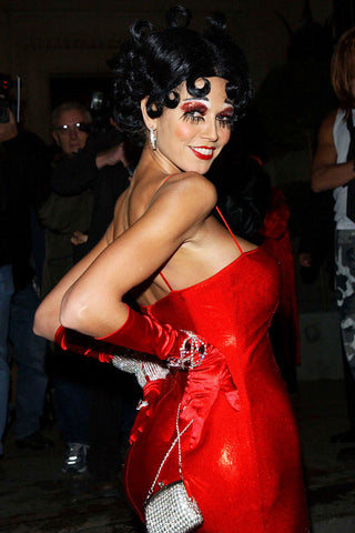 Heidi Klum Betty Boop Easy Celebrity Halloween Beauty Looks Costumes