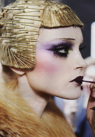 Dior Aw09 beauty Flappers Glamour Makeup