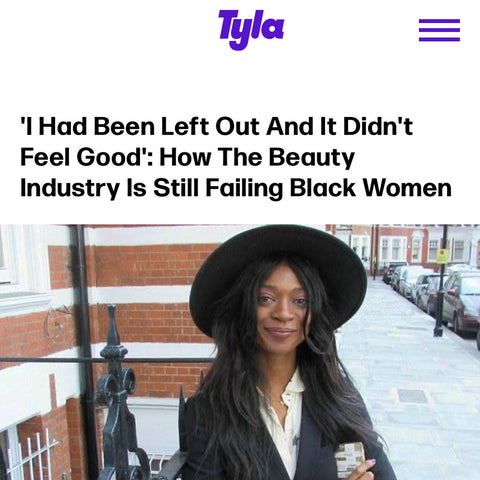 Jamila Robertson Tyla Magazine - Advocate for Diversity in the Beauty Industry