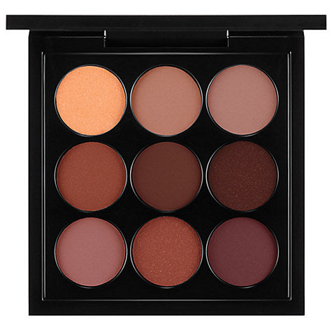 MAC Burgundy Times Nine Eyeshadow Palette Best Review