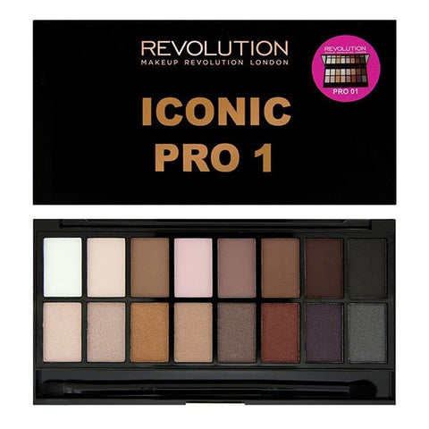 Makeup Revolution Iconic Pro 1 Palette Best Bronze Burgundy