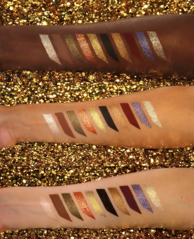 Pat McGrath Mothership VI Palette Swatches
