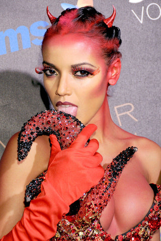 Selita Ebanks Halloween Costume Celebrity Devil