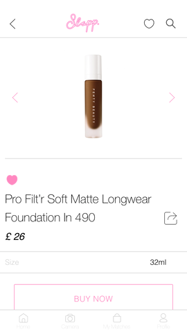 Slapp App Foundation Finder My Shade