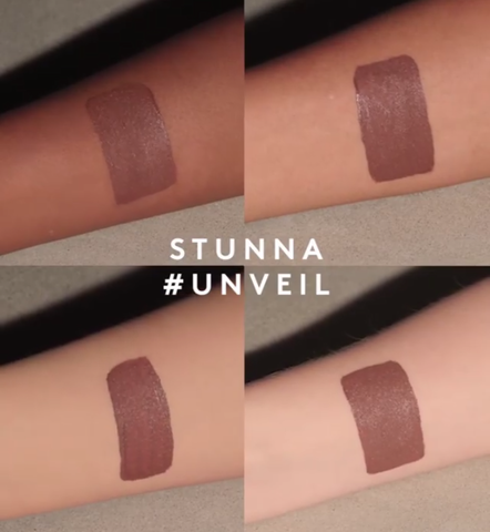 Stunna Lip Paint Swatches - Unveil - Fenty Beauty