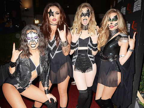 Little Mix as Kiss Good Halloween Group Costumes