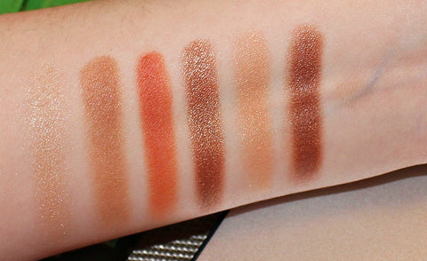 Milani Earthy Elements Swatches