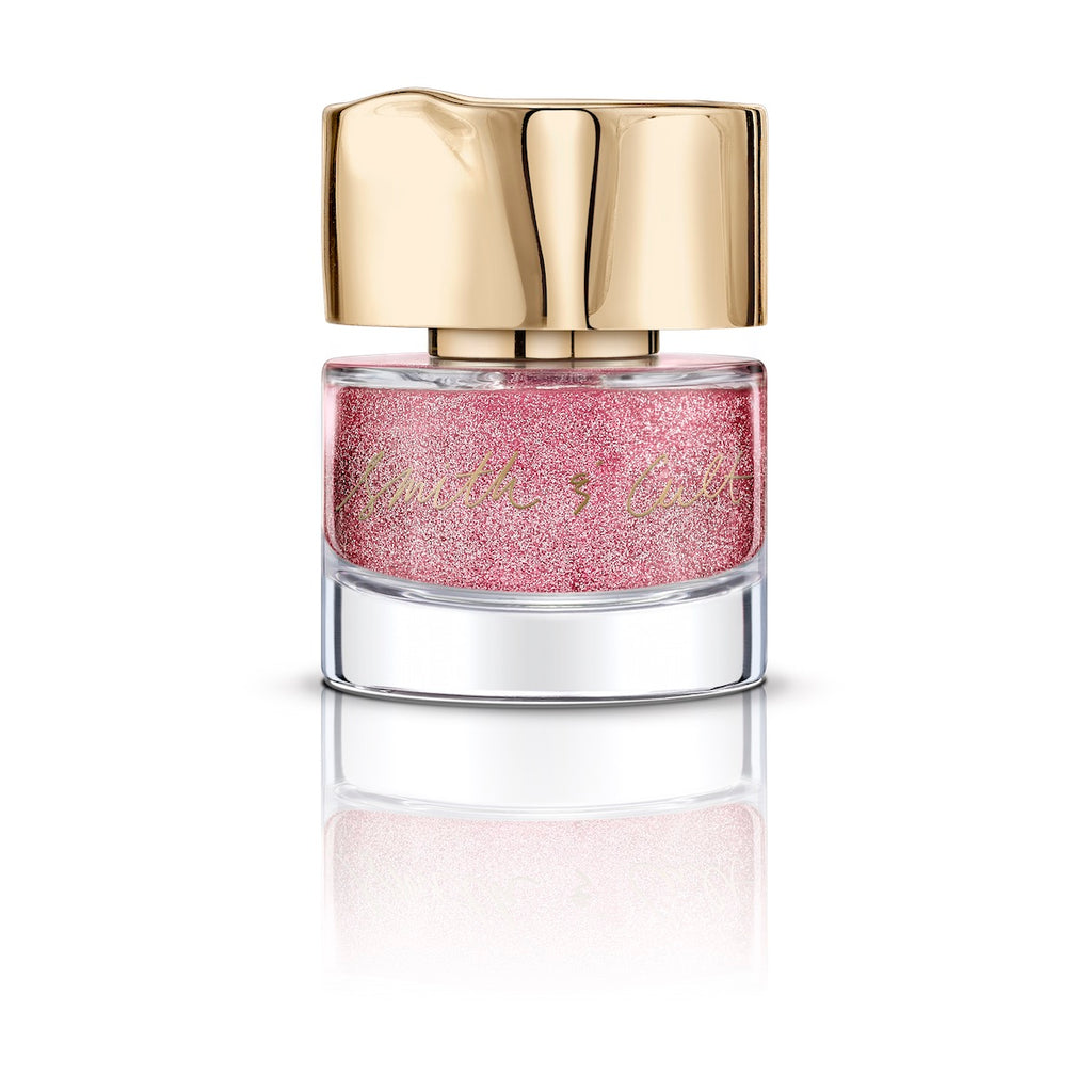 Smith & Cult - Gay Ponies Dancing In The Snow - Pink Glitter Nail Lacquer
