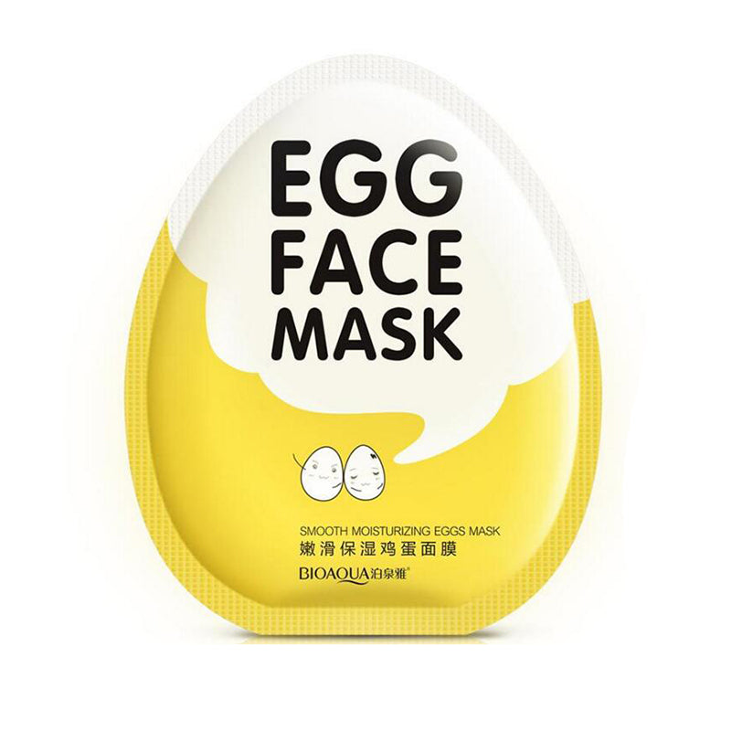 BioAqua Egg Face Sheet Mask - Slapp.