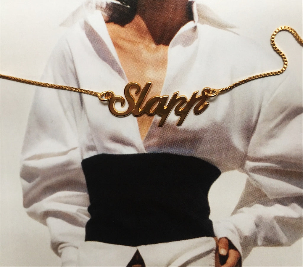 Slapp 18 carat Gold Necklace - Slapp.