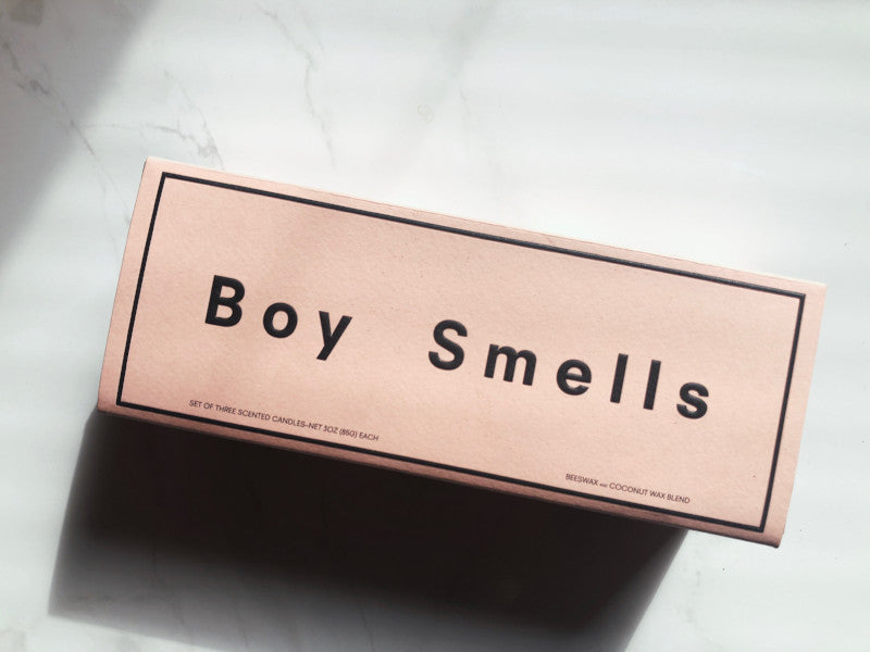 Boy Smells - Votive Trio - PETAL, PRUNUS, LANAI - Candle - Slapp.