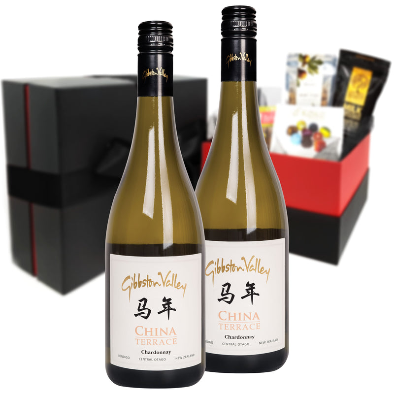 Gibbston Estate China Terrace Single Vineyard Chardonnay 2015 Duo