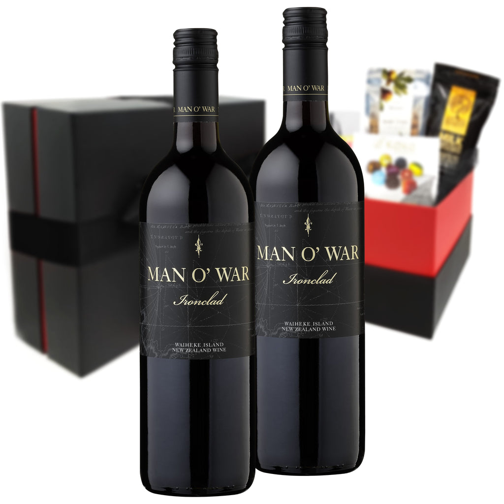 Man O' War Ironclad Merlot/Cabernet 2011 750ml Duo