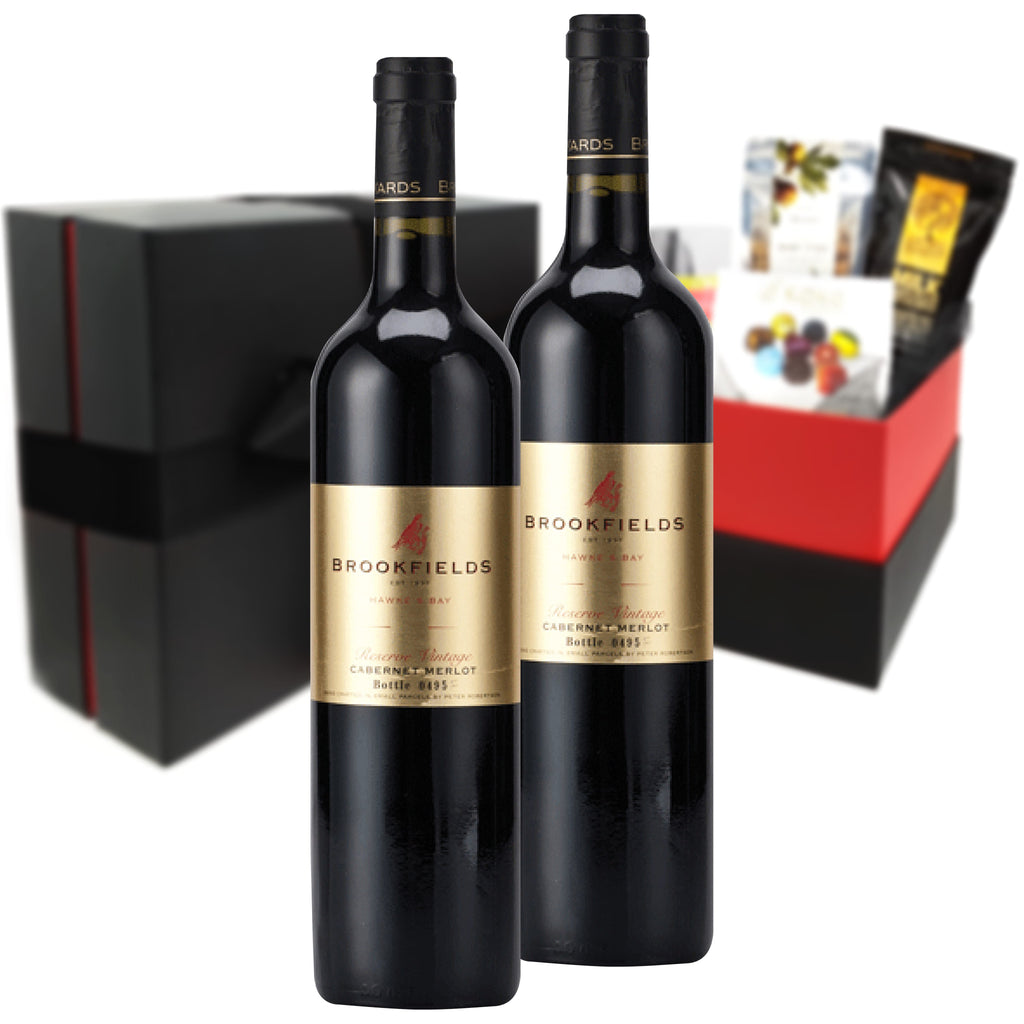 Brookfields Gold Label Cabernet Merlot 2015 750ml Duo