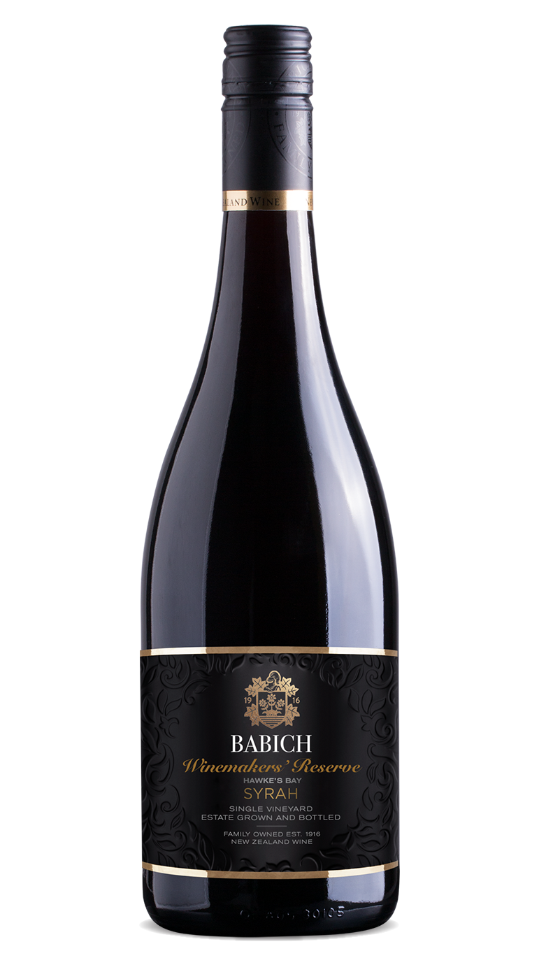 Babich Winemakers Reserve Syrah 2017 750ml