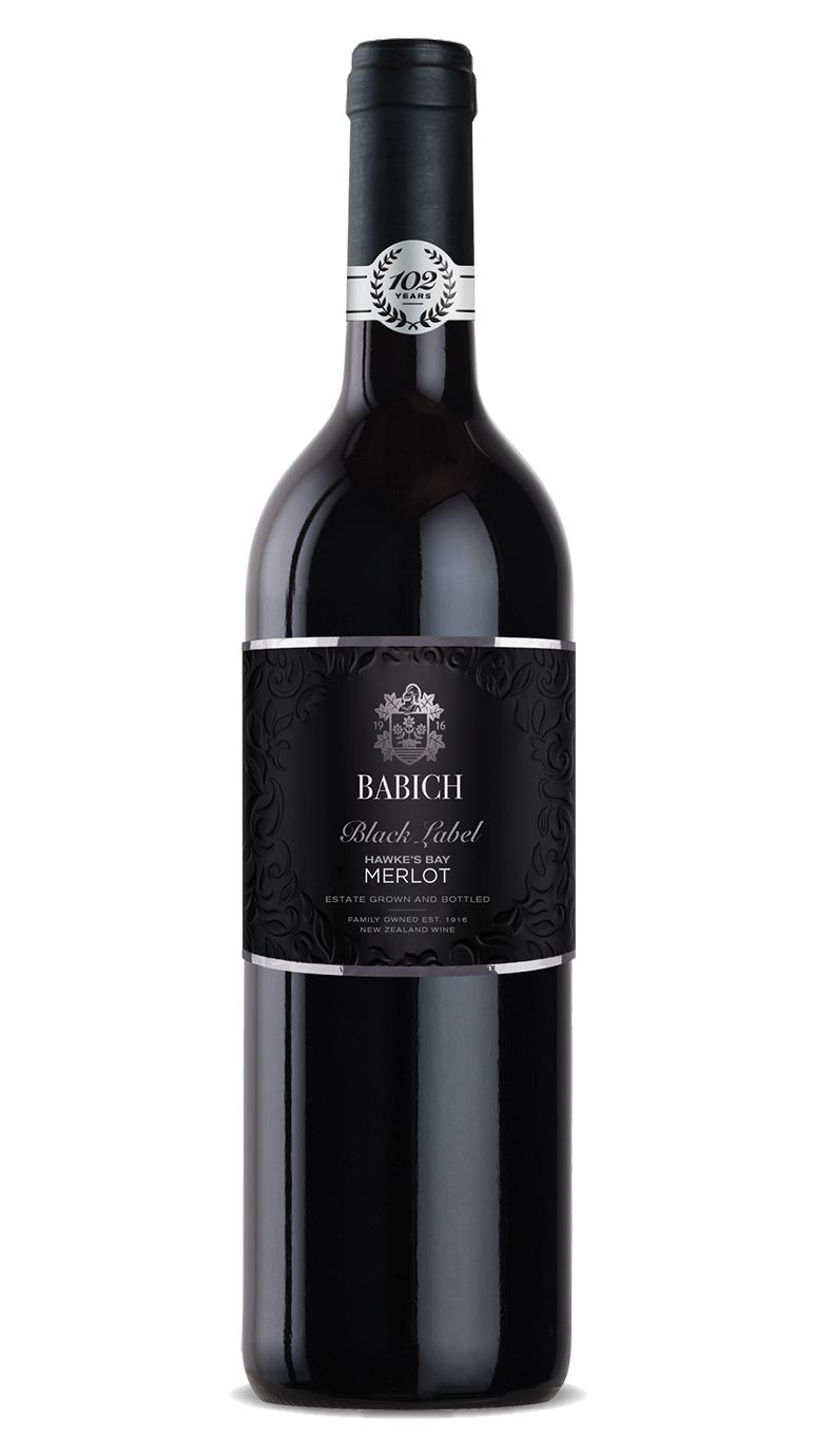 Babich Black Label Hawkes Bay Merlot 2013 750ml