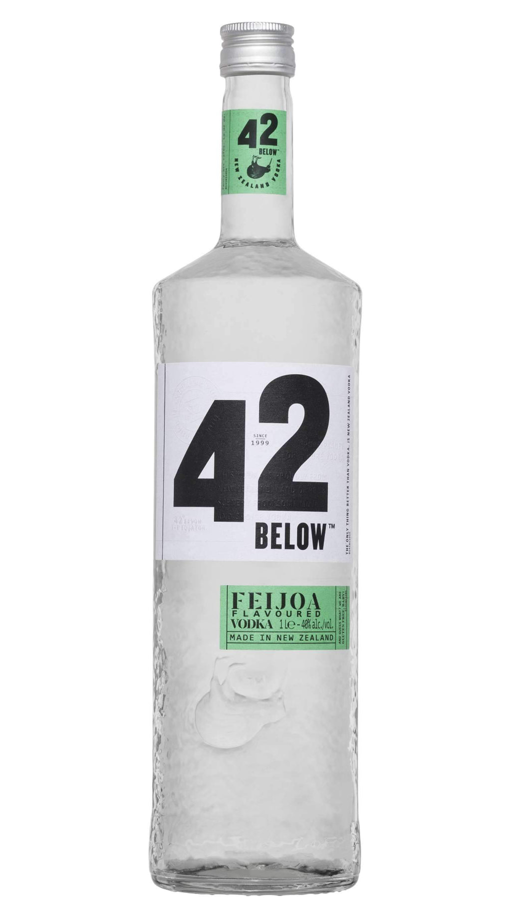 42 Below Pure Vodka 40% 1000ml Feijoa