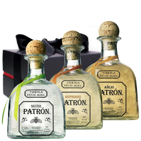 Patron Tequila Triple Pack