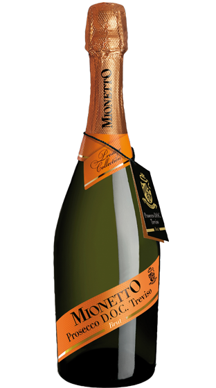 Mionetto Prosecco Brut  750ml 6 x Bottles