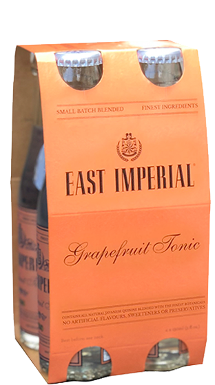 East Imperial 6 x 4 Pack 150ml Bottles Grapefruit Tonic