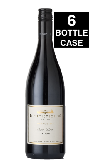 Brookfields Back Block Syrah 2019 - 6 BOTTLES