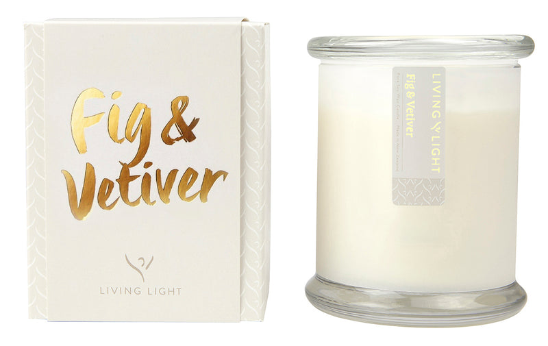 Fig & Vetiver LUXURY SOY JAR CANDLE