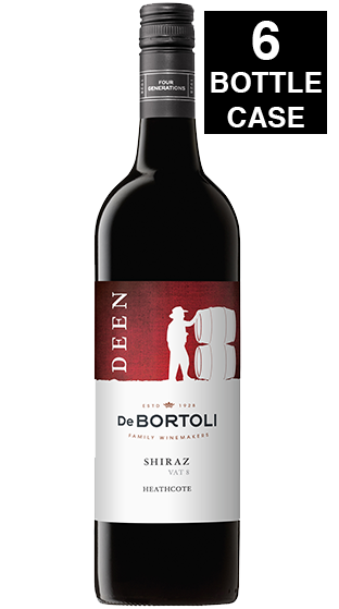 De Bortili Deen De Bortoli Vat 8 Shiraz 2016 750ml - 6 BOTTLES