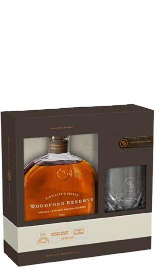 Woodford Reserve 700ml with Glass : GIFT PACK