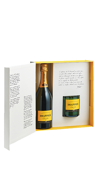 Drappier Champagne & Candle : GIFT SET
