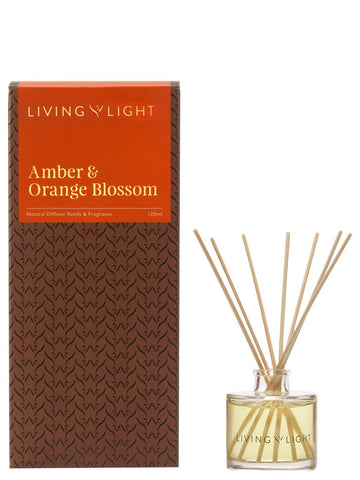 Amber & Orange Blossom Luxury Diffuser