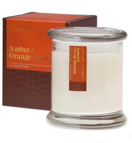 Amber & Orange Blossom LUXURY SOY JAR CANDLE