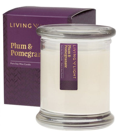 Plum & Pomegranate LUXURY SOY JAR CANDLES