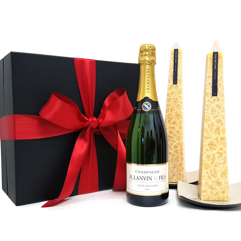 Champagne - Beau Joie Brut Gift Set
