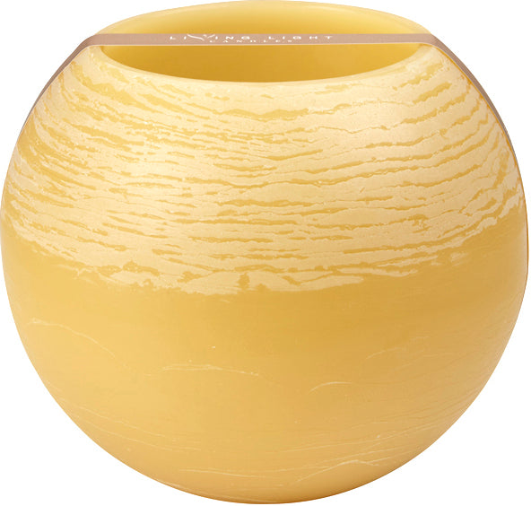 Living Light White Globe Floating Candle