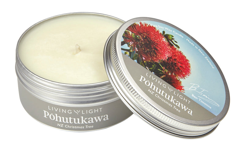 Pohutukawa NZ Nature Soy Travel Tins