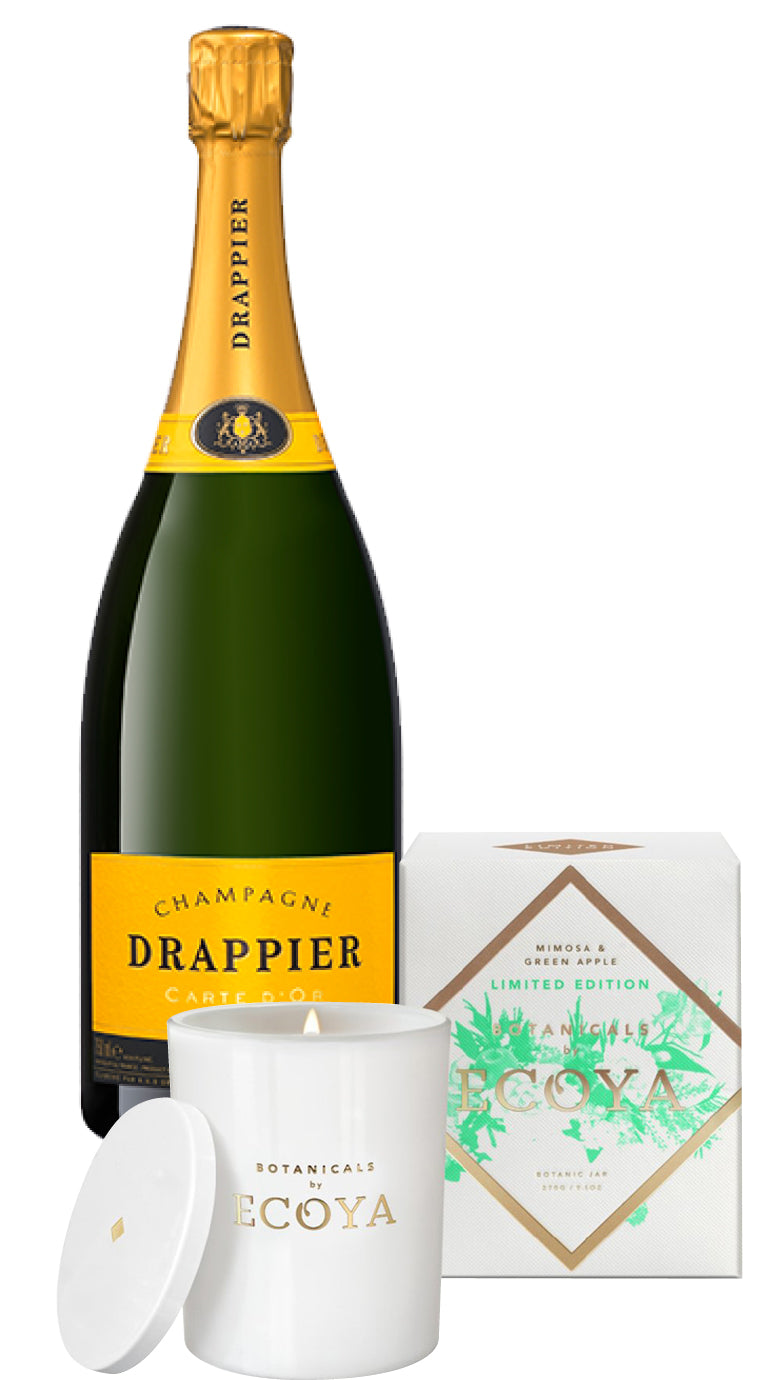 Drappier Champagne 750ml & Ecoya Ltd Edition Candle : GIFT PACK