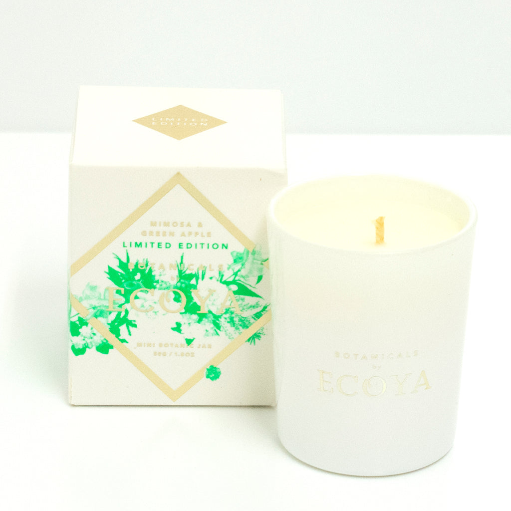 Ecoya Limited Edition Green Apple Mini Candle
